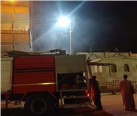 السيطرة علي حريق بمقابر الأقباط في طنطا
