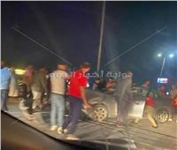 إصابة 4 أشخاص في حادث تصادم  بطنطا