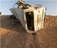 إصابة 9 أشخاص في حادث تصادم بطريق طنطا كفرالشيخ