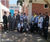 جولة ميدانية لمتابعة أعمال مياه أسيوط خلال أيام العيد وتقديم التهاني للعاملين