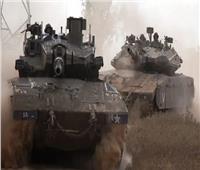 نشر دبابات وعربات مصفحة إسرائيلية استعدادًا لاجتياح غزة | فيديو
