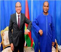 سفير مصر يبحث مع وزير خارجية بوركينافاسو تطورات ملف «سد النهضة»