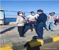 للتأكد من تطبيق الإجراءات.. استمرار الحملات على الشواطئ والمتنزهاتبالإسكندرية