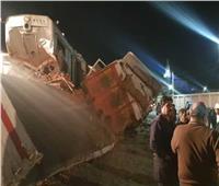 أمن المنيا يكشف هوية جثامين سيدة وطفلتين  دهسهم قطار مغاغة