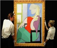 «المرأة الجالسة قرب النافذة ».. لوحة بيكاسو  تباع بـ ١٠٣ ملايين دولار