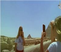«صباح الخير يا مصر» يستعرض تزايد الوفود السياحية