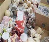 ضبط أطنان من السلع الفاسدة في حملات تموينية على الأسواق أيام العيد