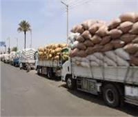 استئناف أعمال توريد القمح لشون وصوامع بني سويفبعد توقفها في عيد الفطر