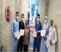 تكريم فرق التمريض في 3 مستشفيات عزل بالمنيا