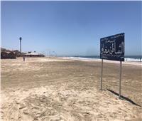 استمرار غلق شواطئ رأس البر فى ثالث ايام عيد الفطر المبارك
