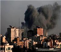 طائرات الاحتلال الإسرائيلي تدمر برج «الجلاء» وسط غزة