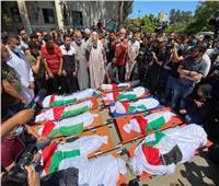 تشييع جثامين شهداء مجزرة الشاطئ غرب غزة.. ومساعدات طبية تصل غزة غدًا