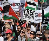 آلاف المحتجين في لندن ومدريد ينظمون مسيرات دعمًا للفلسطينيين
