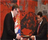 سفير مصر في بلجراد يبحث التعاون الثنائي في عدة مجالات بصربيا