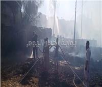 بطل وسط النيران.. استشهاد أحد رجال الحماية المدنية في حريق بإسنا | صور