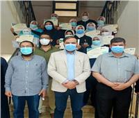 «وكيل صحة الإسماعيلية» يُكرم فريق تمريض الحميات