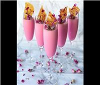 مهلبية الورد بالكروكان لضيافة عيد الفطر