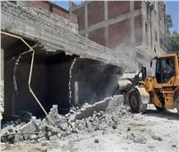 حملات مكبرة لإزالة البناء المخالف والتعديات عليأملاك الدولة بأحياء الإسكندرية
