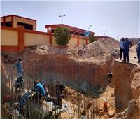 رئيس جهاز قنا الجديدة: جارٍ الانتهاء من خط المياه الرئيسي بالمدينة