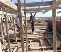 إزالة مخالفة بناء في المهد بمدينة بدر ورفع الإشغالات بالشروق