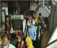 محافظ المنيا يوجه نائبه بمتابعة الحالة العامة بالمستشفيات وشوارع المدينة