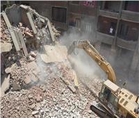 إزالة المباني المتعارضة مع مشروع توسعة الدائري بالقليوبية