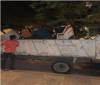 حي العجوزة يغلق 3 مقاهي مخالفة لقرارات الغلق