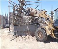 تنفيذ إزالة 19 مخالفة بناء خلال أيام العيد بمراكز محافظة أسيوط