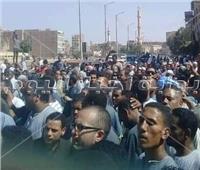 الآلاف بالأقصر يشيعون أمين شرطة بالدفاع المدني استشهد أثناء تأديه عمله.. صور
