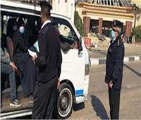 تحرير 224 محضرًا لعدم ارتداء الكمامة في بني سويف