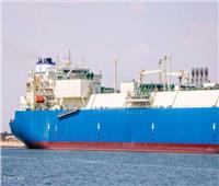 ناقلة الغاز المسال «MARAN GAS TROY» تغادر ميناء دمياط