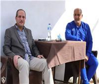 هشام إبراهيم يؤازر زمالك ٢٠٠٣ أمام الأهلي