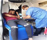 أعضاء برلمان الشباب بشمال سيناء يقودون حملات تبرع بالدم لصالح جرحى غزة