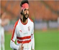 الزمالك يعلن إصابة محمود علاء بمزق في العضلة الضامة