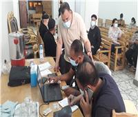 بدء مبادرة تطعيم كبار السن وأصحاب الأمراض المزمنة ضد كورونا بالسويس