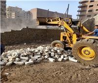 خلال أيام العيد.. حملات إزالات بناء مخالف في الجيزة
