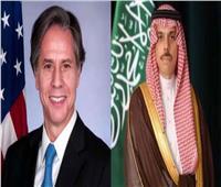 وزيرا الخارجية السعودي والأمريكي يبحثان تطورات الأوضاع في فلسطين