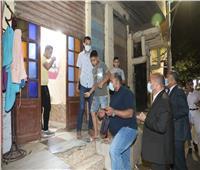 سكرتير عام بني سويف يقود حملة لمتابعة الالتزام بمواعيد غلق المحلات | صور