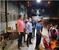 استمرار تطبيق مواعيد غلق المحال والمقاهي وتحرير 277 محضر في أسيوط