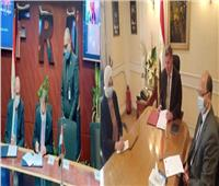 «قطاع الأعمال» توقع اتفاقية تعاون مع مركز المديرين المصري