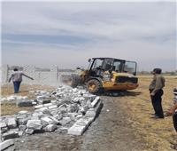 إزالة 4 حالات تعد على الأراضي الزراعية بـ4 مراكز في البحيرة