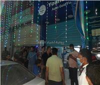 غلق 9 أماكن مخالفة وتحرير 130 محضر عدم إرتداء كمامة بنطاق 6 مراكز بالبحيرة