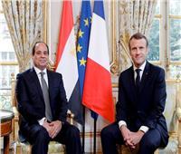 بث مباشر  قمة مصرية فرنسية بين الرئيس السيسي ونظيره الفرنسي