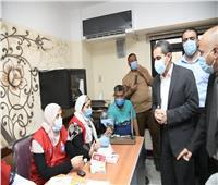 محافظ الغربية يشهد انطلاق مبادرة «اللقاح أمان»