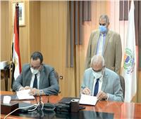 جامعة المنصورة توقع على بروتوكول  فى التدريب والتعليم الطبى