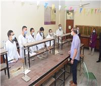 جامعة سوهاج تستأنف الدراسة بعد انتهاء أجازة عيد الفطر المبارك