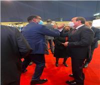 الرئيس السيسي يلتقي عدد من الزعماء الأفارقة بمقر مؤتمر باريس | صور