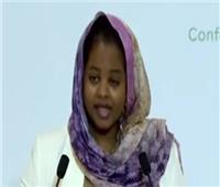 سودانيه تتقدم بالتهنئة إلي الرئيس ماكرون علي إقامة مؤتمر دعم السودان