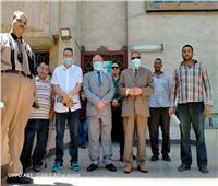 نائب رئيس جامعة الأزهر للوجه القبلي يتفقد المستشفى الجامعي