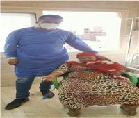 مستشفى سوهاج العام تعيد الابتسامة لمصابة بكورونا من ذوي الهمم